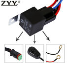 Wiring Harness Kit Line 40A 12V Switch Relay Harness For LED Work Light Bar