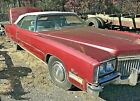 1972 Cadillac Eldorado Convertible Junk Yard Find Whole Parts Car Can Deliver 72