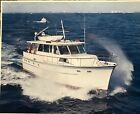 1967 Hatteras 50 Motoryacht Color Picture mounted on Cardboard (clean)
