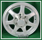 "4 - 15"" Clear Coated Aluminum 7 Spoke Trailer Rim wheel"