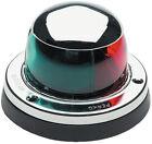 Chrome Plated Brass Bi-Color Combination Deck Mount Bow Navigation Light