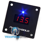 RMD BLK PHOENIX GOLD REMOTE DIGITAL VOLTAGE DISPLAY