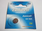 1 Pcs CR1025 CR 1025 - 3V Eunicell Lithium Button Cell Battery Batteries - NEW
