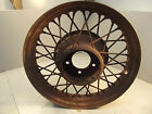 "18"" BUDD SPOKE RIM wheel 5 on 5 1932 1934 coupe sedan hotrod original"