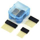 2x6pin 4x8pin 2x10pin Single Row Header Socket Connector Kit, for Arduino DIY