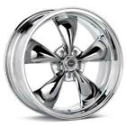 17x8 18x8 CHROME TORQ THRUST M Rims EARLY General Motors 5x4.75