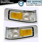 Marker Signal Blinker Corner Parking Light Lamp Pair Set for 95-97 Town Car