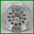 "Aluminum Trailer Rim 15X6"" Mod Wheel 6 on 5.5 With Center Cap & Lug Nuts"