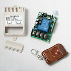 110v 240v 1 CH Wireless RF Remote Control Switch Transmitter Receiver 30A Relay