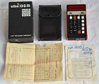 Vintage Bulgarian Electronic Calculator ELKA 135M * passport sn: 823936 , n174