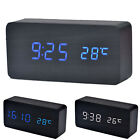 Upgrade Temperature Sounds Control Display USB Power Desktop LED Alarm Clock New