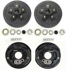 "Trailer 5 on 4.5 Hub Drum Kits with 10""X2-1/4"" Electric brakes for 3500 lbs axle"