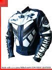 Yamaha R1 Blue Racing Leather Motorcycle Jacket - All Sizes