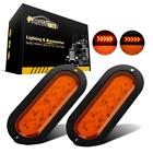 """2x6"""" 25 LED Oval Stop Tail Truck Trailer Amber Arrow Turn Signal indicator Light"""