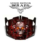 "Polaris RZR 1000 XP ""Badland~Blood Bath"" Sled Hood Graphics 2014-'16 SDW-1144H"