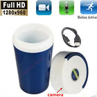 Mini 960P HD SPY DVR Hidden Camera Water Cup Motion Detection Video Recorder Cam
