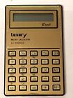 Vintage Luxury Melody  Electronic Pocket Calculator W/ Case...Rare! Hard to Find