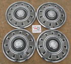"""1968, 1969 DODGE CHARGER DART 14"""" WHEEL COVERS, HUBCAPS, SET OF 4, ~NO RESERVE~"""