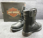 New Genuine Harley Vance Mens Lace High Combat Boots Shoes Size 12 D96082 #C137
