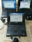 Lot of 3 Lenovo Thinkpad T61 Core 2 Duo 1.80Ghz  80GB HD, 2GB RAM NEW BATTERIES