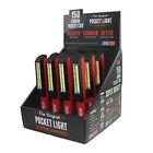 EZ Red 12 Pack Pocket COB Light Stick - PCOB12