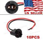 10pcs T10 Harness Plug Connector wiring sockets Pigtail 168 194 2825 175 W5W 921
