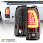 Smoke 1997-2003 Ford F150 1999-07 F250 SD LED Light Bar Tail Lights Brake Lamps