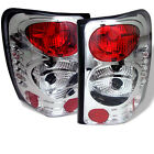 SPYDER EURO STYLE TAIL LIGHTS CHROME FOR JEEP GRAND CHEROKEE 99-04