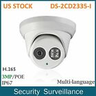 US STOCK Hikvision DS-2CD2335-I 3MP PoE Turret EXIR Dome Security IP Camera 4MM