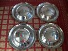 """1954 Plymouth  Set of Four 15"""" Hubcaps"""