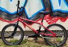 "2006 Red HARO Bmx Bike F4 Function Series Bicycle 20"" Wheels Vintage Freestyle"