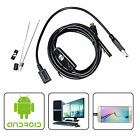 Waterproof Micro USB Inspection Camera Endoscope Borescope for Android HTC SONY