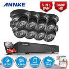ANNKE 1TB 1080N 8CH 5IN1 DVR H.264 960P TVI Camera Email Picture CCTV System VGA