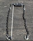 """36"""" Trailer Safety Chains assembly Set with forged hook"""