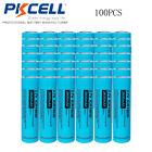 Wholesale 100 pcs Genuine 2600mAh ICR 18650 Battery 3.7v - 4.2v PKCELL Flat Top