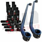 Can-Am Maverick MAX Roll Cage Clamp Harness Bar Kit Black 4 Point Safety Belts