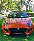 2014 Jaguar F-Type  2014 Jaguar F Type Super Charged V8 S Convertible low miles w/ extras, warranty