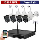 ONWOTE 1080P HD NVR Outdoor Wireless Home Security Surveillance Camera System