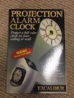 Excalibur Projection Alarm Clock