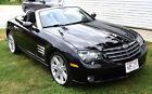 2005 Chrysler Crossfire  Rare Black On Black 2005 Chrysler Crossfire 2 Door Convertible Runs Beautifully