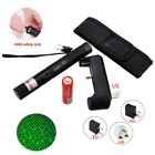 High Power 5mw 532nm Focus Green Laser Pointer 18650+ Battery Charger Holster