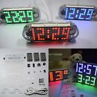 Alarm Clock Kit DIY LED Display Desktop High Brightness Precise Digital Watch