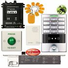 Access Control Password Security Kit + Electric Bolt Door Lock NO Fail Secure