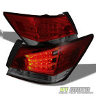 08-12 Accord 4Dr Philips-Led Perform Red Smoked taillights w/CCFL Led Strip