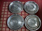 "1987-1992 Cadillac Brougham & 1986-1993 Fleetwood    Set of Four 15"" OEM Hubcaps"