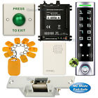 DIY Access Control RFID Key Ring Kit + Electric Strike Door Lock NC Fail Safe
