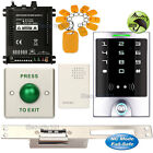 DIY Access Control Entry Kit + Long Type Electric Strike Lock NC Fail Safe