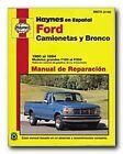 Haynes Ford Camionetas and Bronco (80 - 94) Spanish Repair Manual (99075)