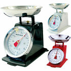 3KG Traditional Weighing Kitchen Scale Bowl Retro Mechanical Vintage Scales
