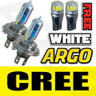 H4 (472) 12V 100W RALLY SPORT HEADLIGHT BULBS WHITE P43T HID 8500K 501 CREE DEL
